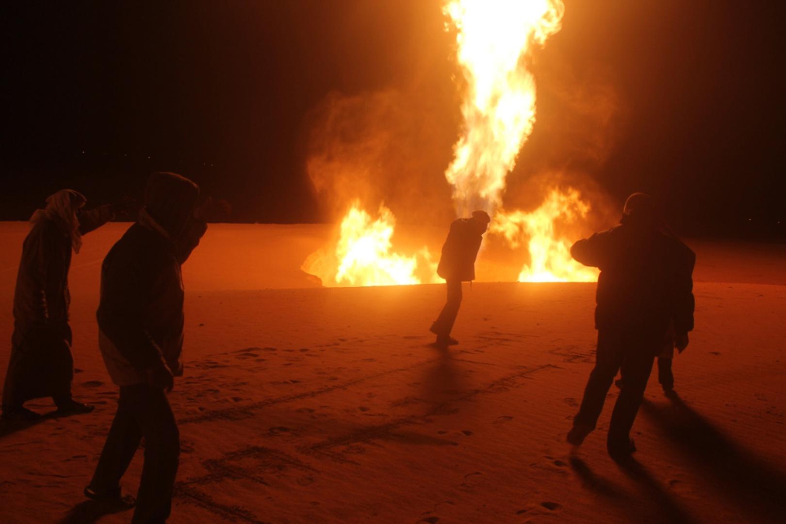 تفجير أنبوب للغاز في شمال سيناء بمصر