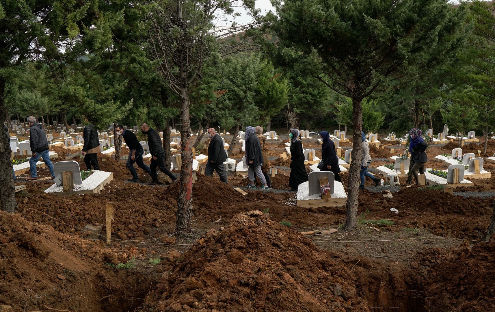 Turkey records 256 new deaths from the Corona virus