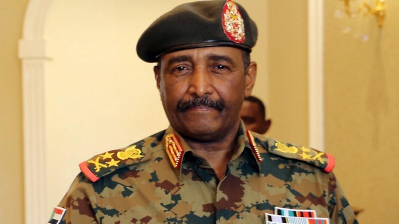 رئيس مجلس السيادة الانتقالي في السودان عبد الفتاح البرهان