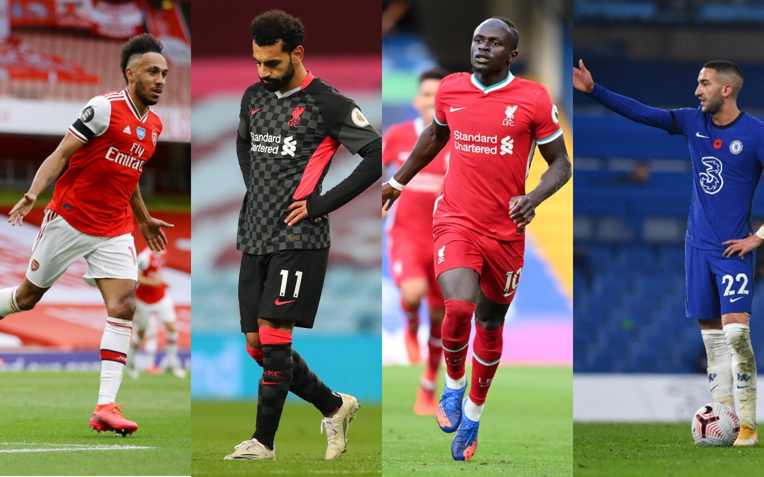 Mohamed Salah II, Africa, among the top 100 players