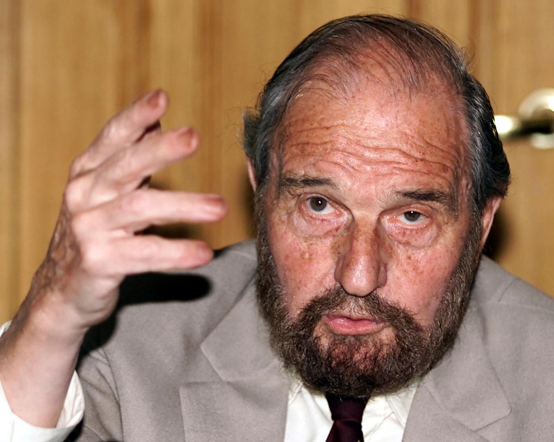العميل المزدوج البريطاني جورج بليْك سنة 2001 في موسكو.