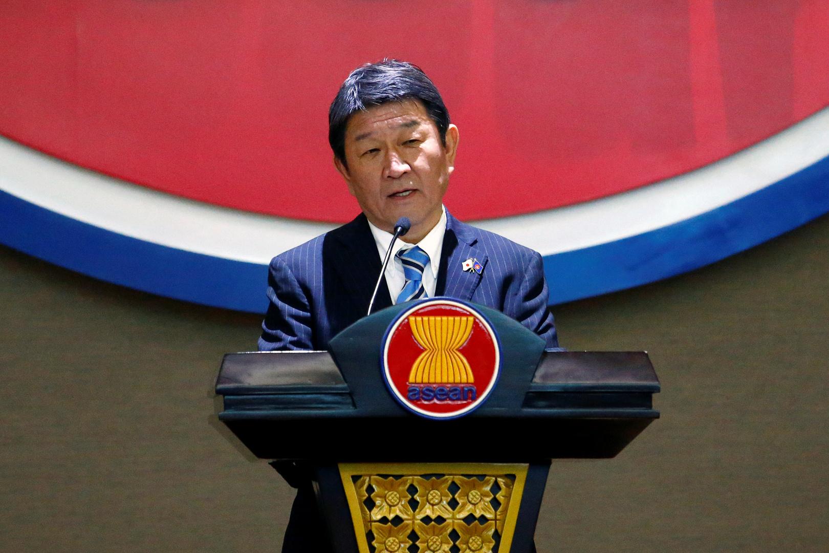 وزير الخارجية الياباني توشيميتسو موتيجي