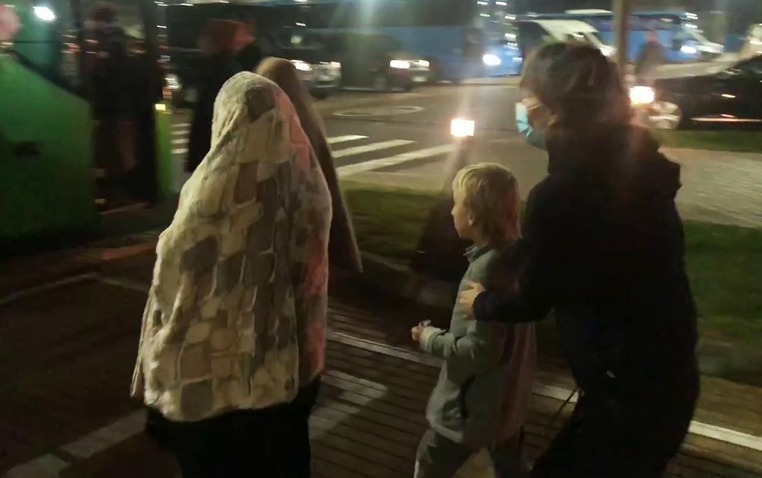 أطفال روس تمت إعادتهم من سوريا