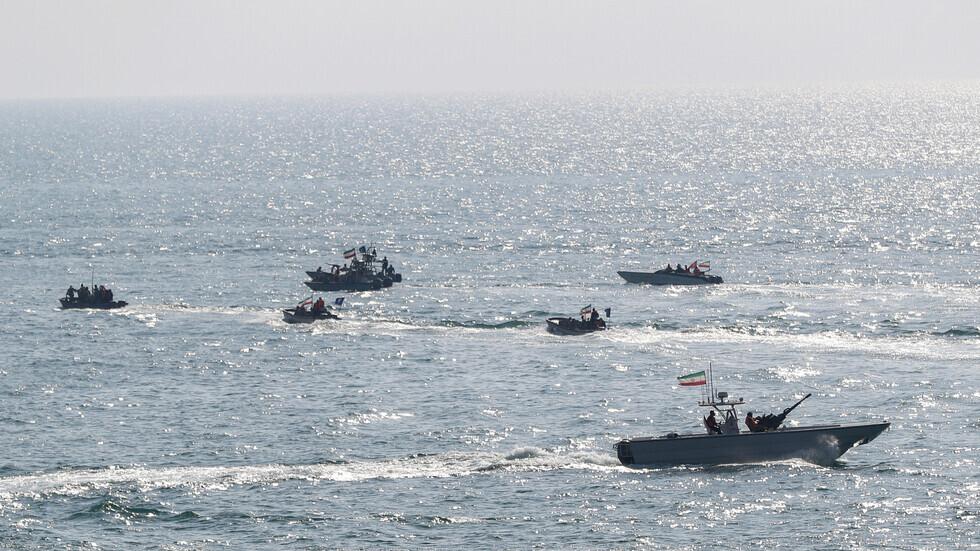 زوارق للقوات البحرية الإيرانية.
