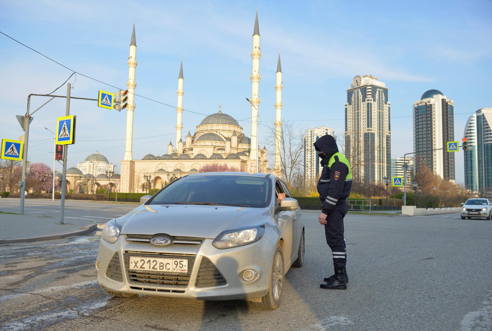 هجوم مسلح في العاصمة الشيشانية غروزني يسفر عن مقتل شرطيين وأحد المهاجمين