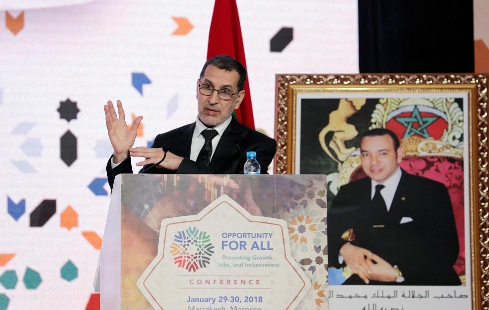رئيس الحكومة المغربي سعد الدين العثماني