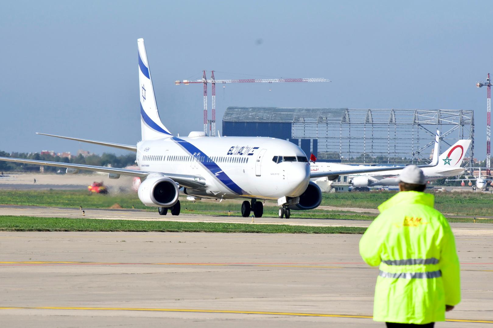 إحدى طائرات شركة العالل في مطار الرباط بالمغرب.