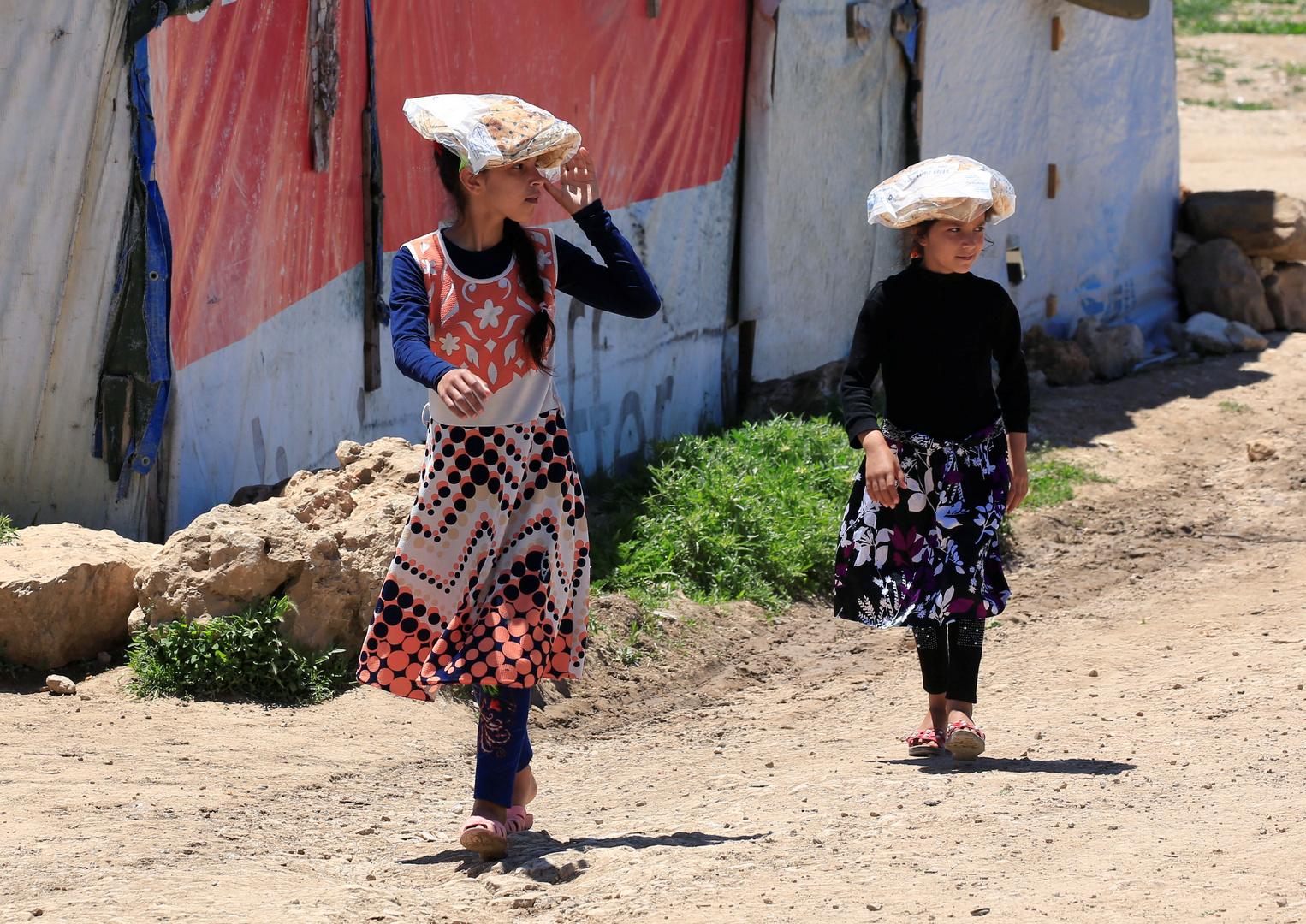 مخيم للاجئين السوريين في سهل البقاع، أرشيف
