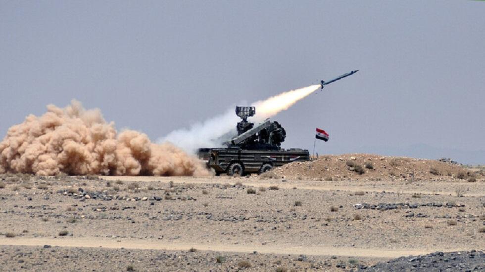 الدفاعات الجوية السورية تتصدى لغارة إسرائيلية في محيط دمشق