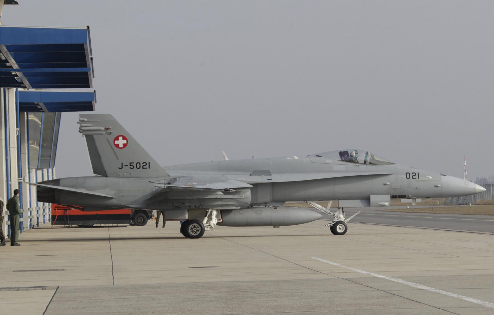 اعتبارا من الخميس.. المقاتلات السويسرية ستحمي المجال الجوي للبلاد على مدار الساعة