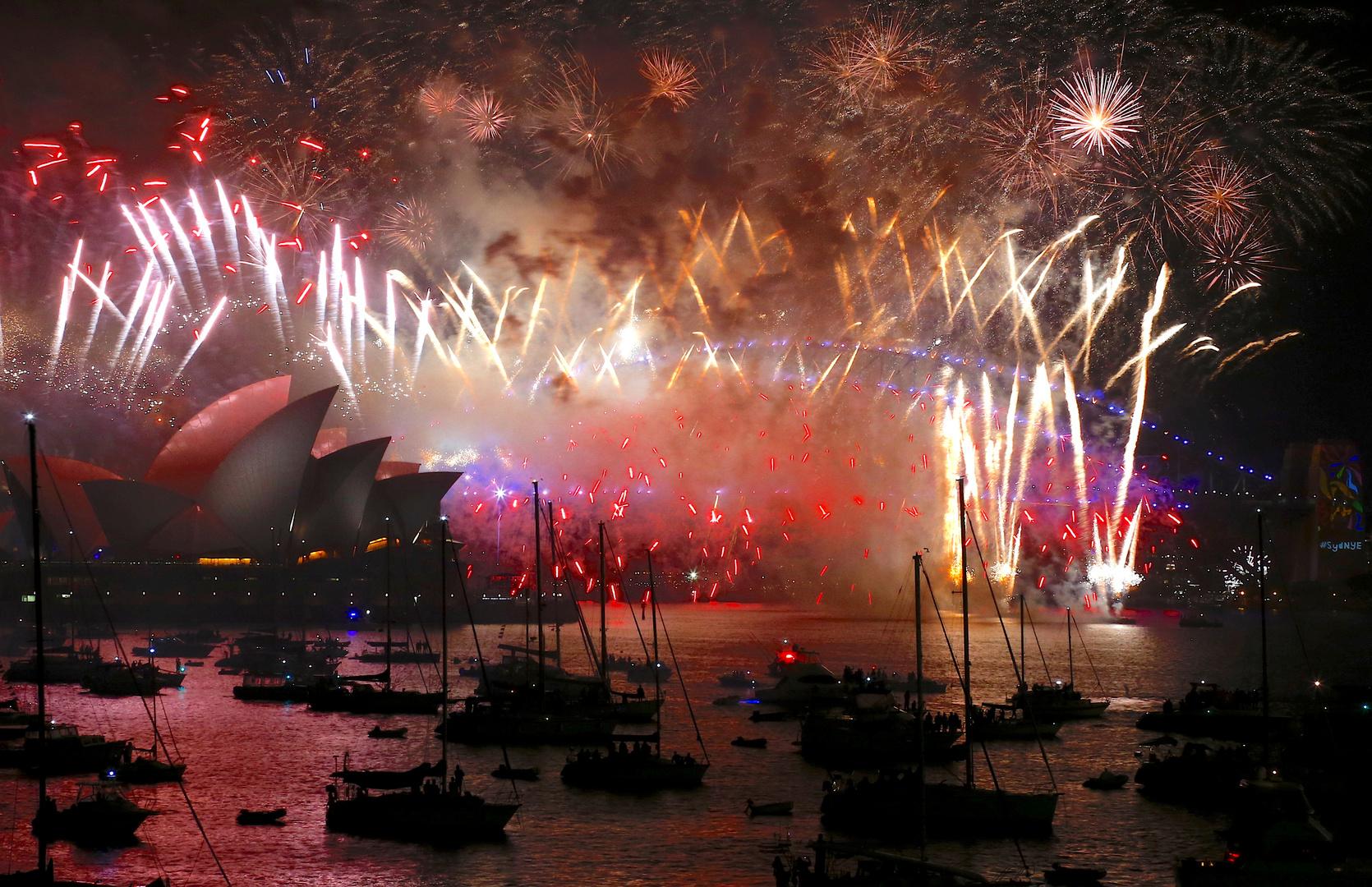 احتفالات العام الجديد في سيدني 2020