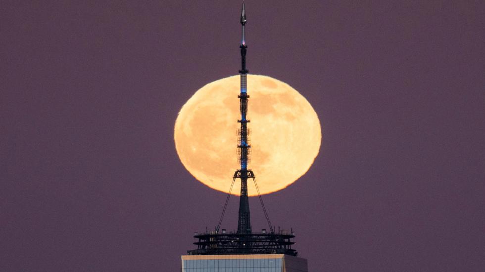 اكتمال القمر الأخير لعام 2020: