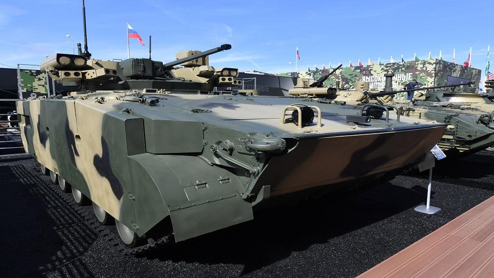 الجيش الروسي يتسلم مدرعة قد تشكل أساسا لجيل جديد من عربات