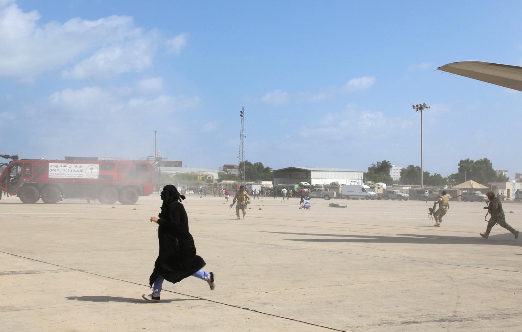 المجلس الانتقالي الجنوبي: من العجلة رمي التهمة على الحوثيين في هجوم مطار عدن