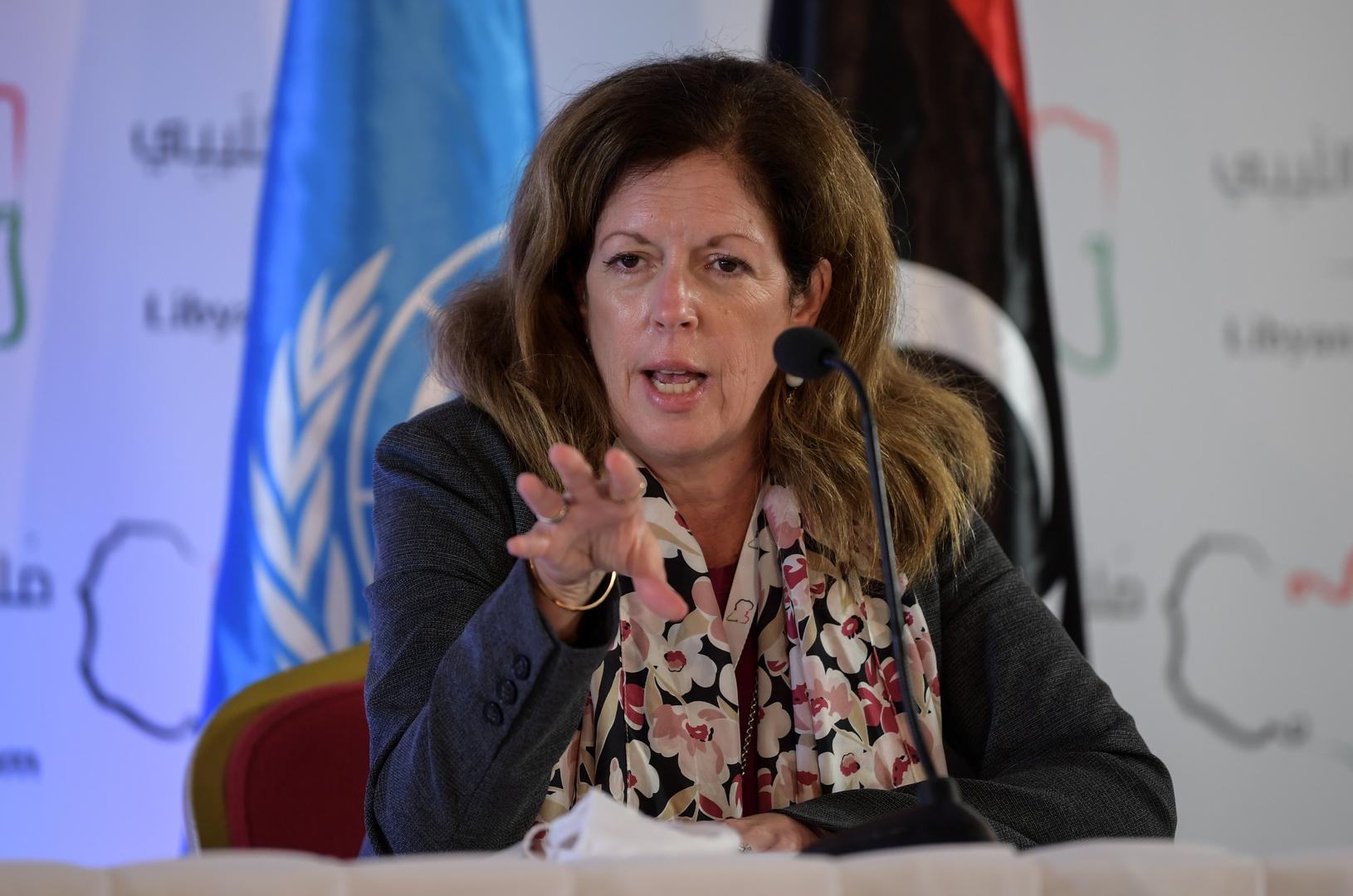 المبعوثة الأممية إلى ليبيا: العد التنازلي بدأ وانتخابات ديسمبر 2021 لا رجعة عنها
