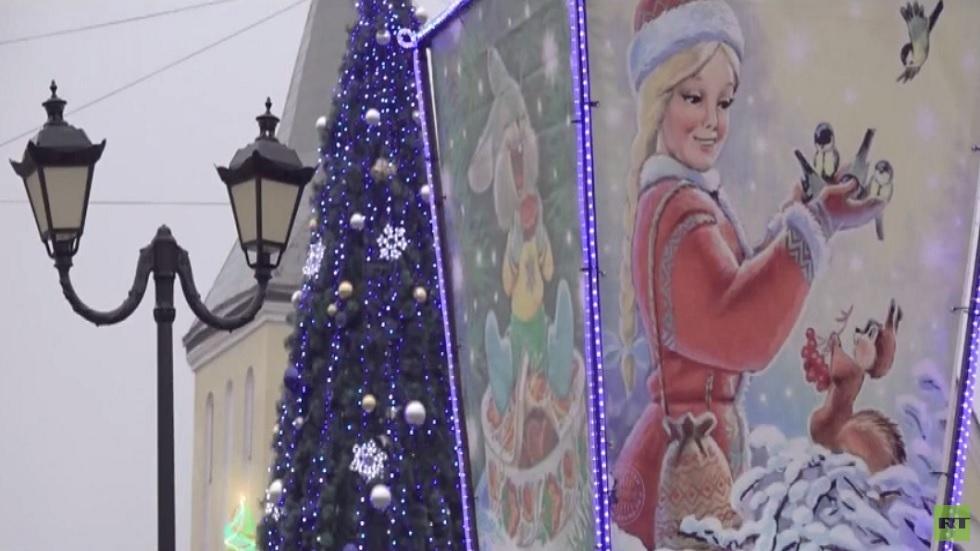 نكهة خاصة لعيد رأس السنة في روسيا