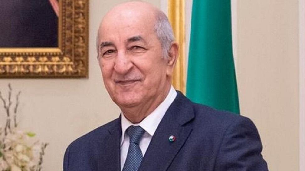 الرئيس الجزائري في أول نشاط رسمي منذ عودته من ألمانيا بعد تعافيه من كورونا - فيديو