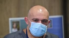 كبير الأطباء في مستشفى روسي يحذر من موجة ثالثة لعدوى كورونا