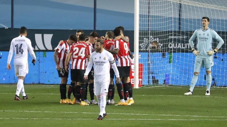 بيلباو يقصي ريال مدريد عن السوبر الإسباني ويضرب موعدا مع برشلونة