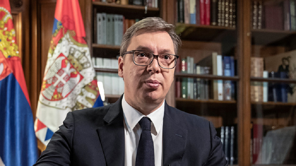 الرئيس الصربي ألكسندر فوشيتش