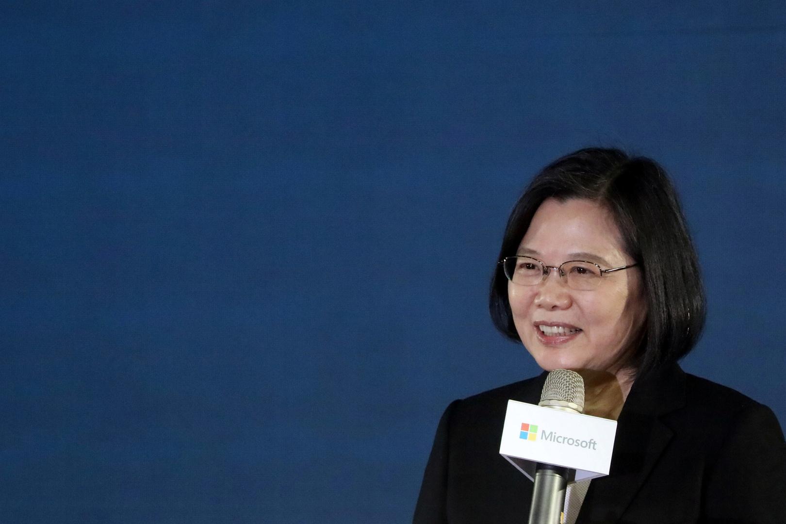 تساي إينج رئييسة تايوان.
