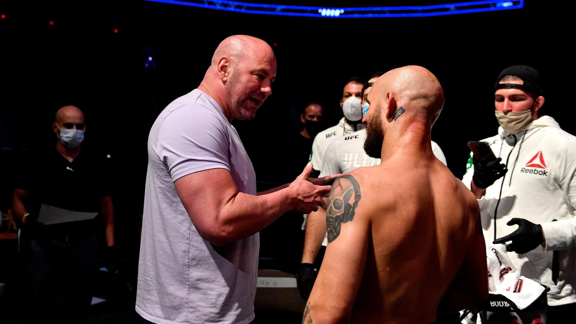 رئيس منظمة UFC يختار أفضل مقاتلي 2020