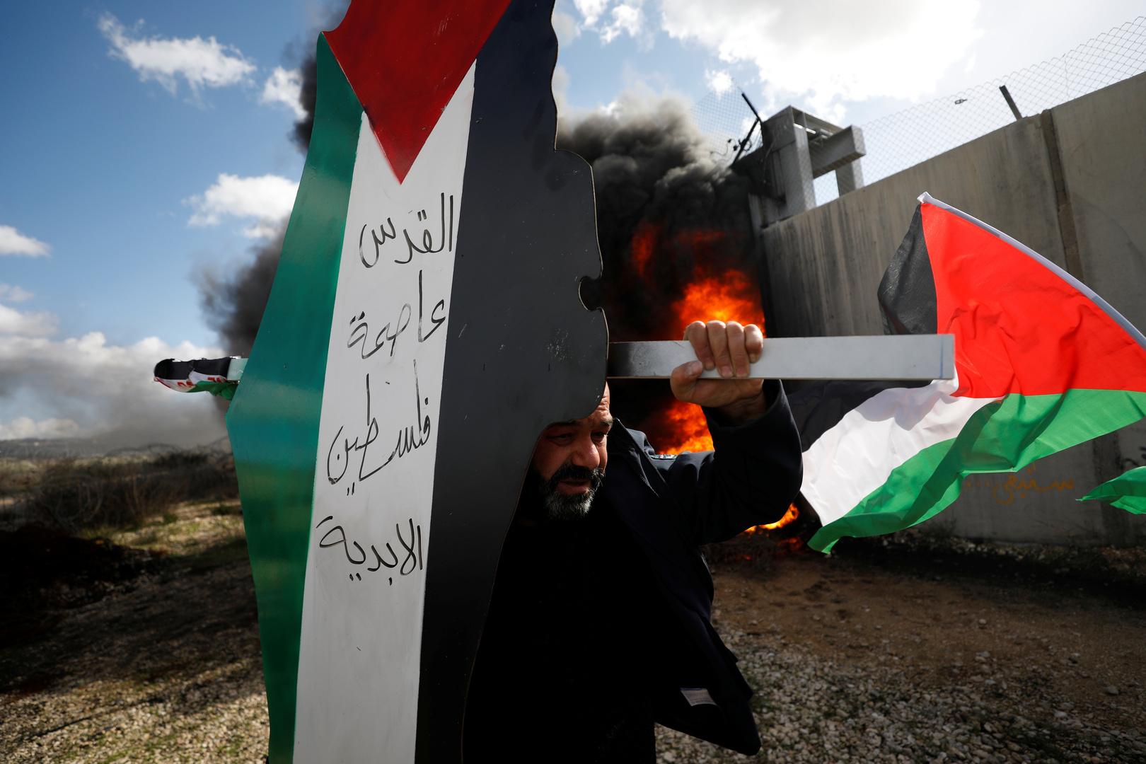 إصابات بين الفلسطينيين خلال تفريق الجيش الإسرائيلي مسيرة في كفر قدوم