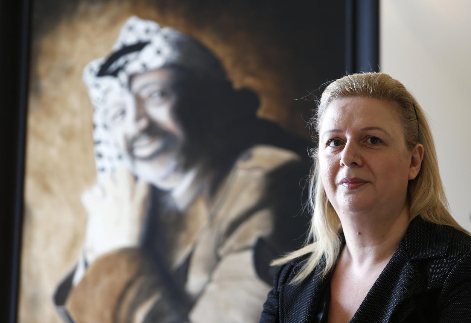 سهى عرفات توضح تصريحاتها حول تبرئتها لإسرائيل من دم