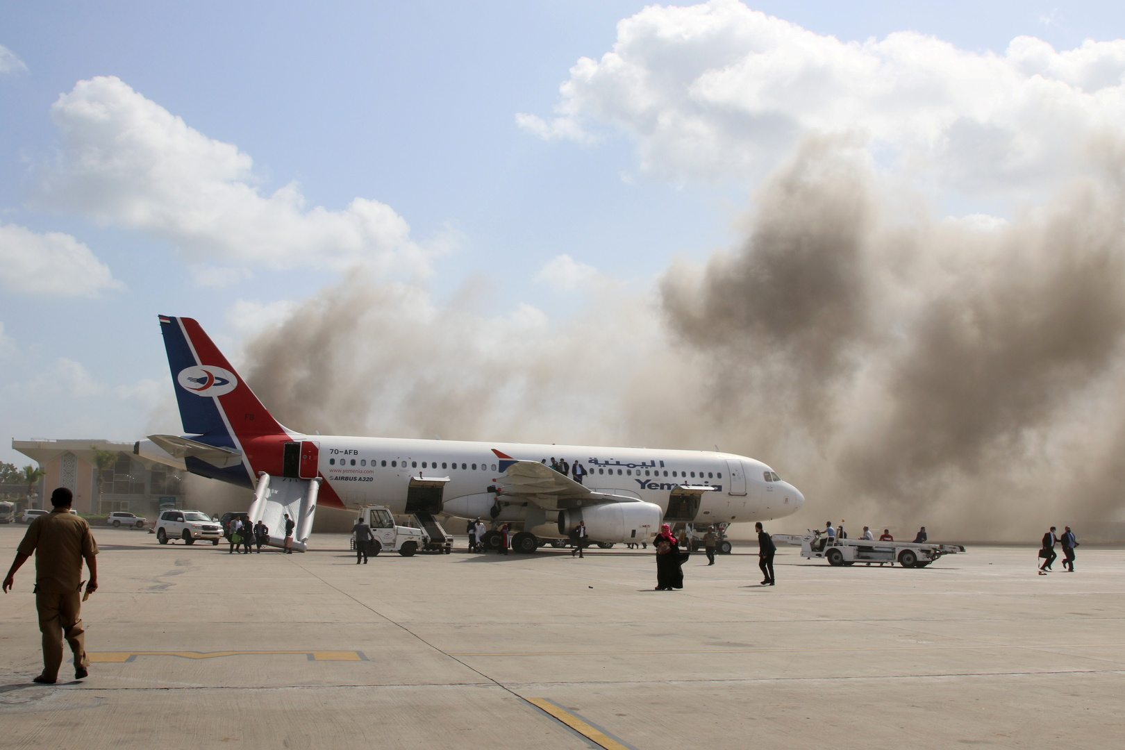 استهداف مطار عدن الأربعاء، 30 ديسمبر 2020