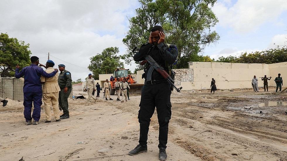 قتلى وجرحى بينهم أتراك بهجوم انتحاري في الصومال