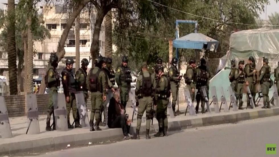 انتشار مكثف لقوات الأمن العراقية في بغداد