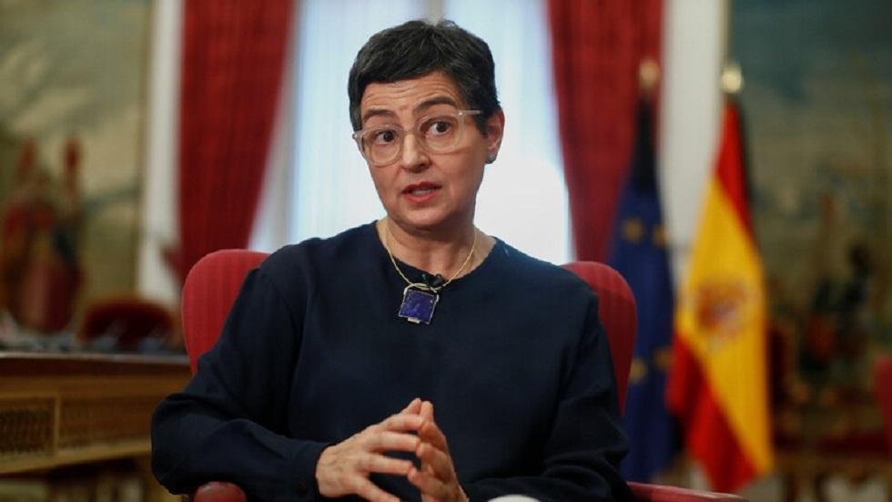 وزيرة الخارجية الإسبانية، أرانشا جونزاليز لايا