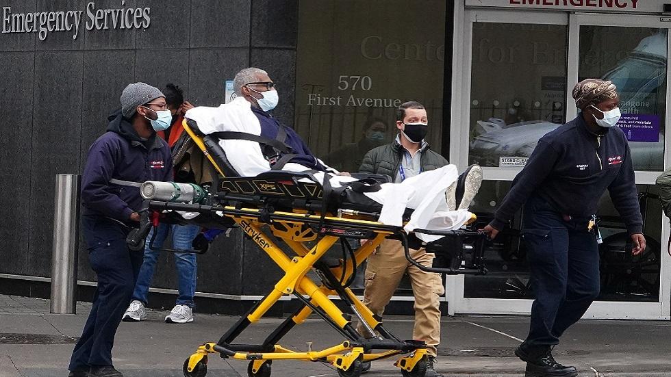 نيويورك رابع ولاية أمريكية يفوق عدد حالات كورونا فيها المليون