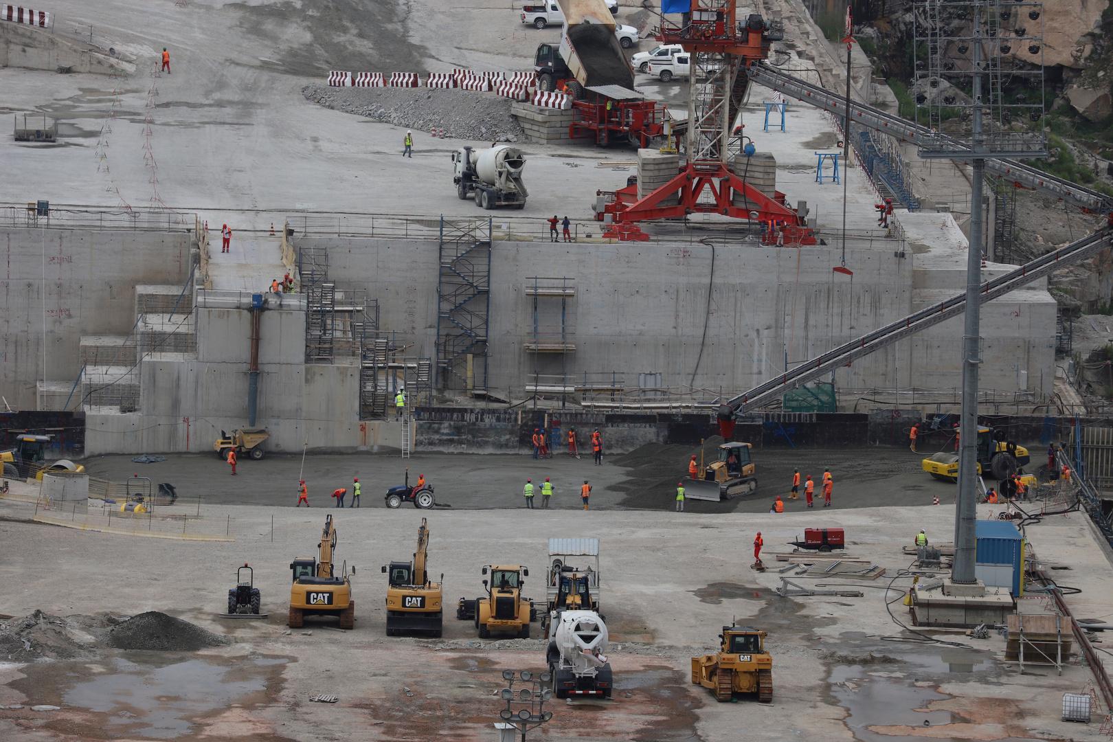 إثيوبيا: الانتهاء من بناء 78% من سد النهضة