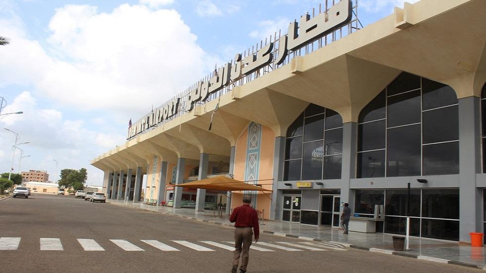 استئناف عمل مطار عدن الدولي