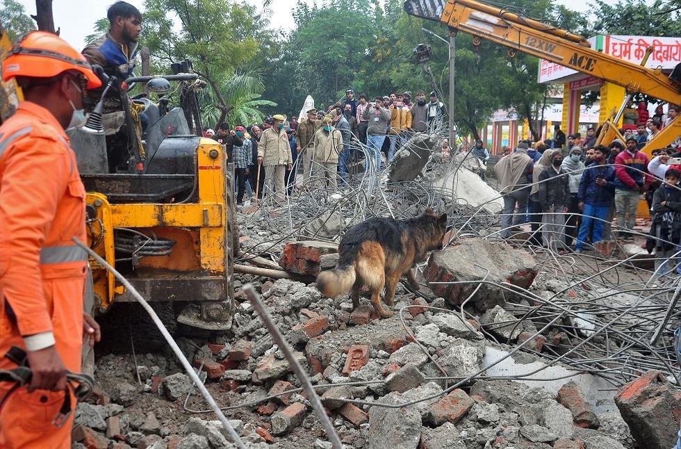 الهند.. 18 شخصا تجمعوا ليحرقوا جثة فدفنوا أحياء تحت الركام