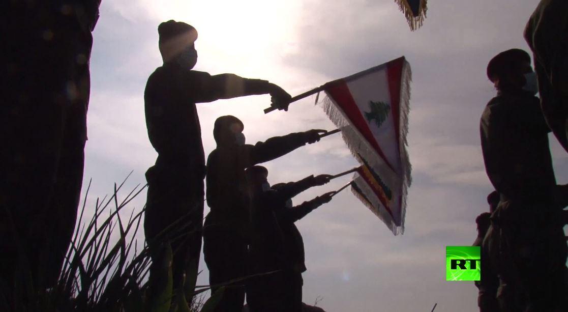 مقاتلو حزب الله يحيون ذكرى اغتيال سليماني على الحدود مع إسرائيل