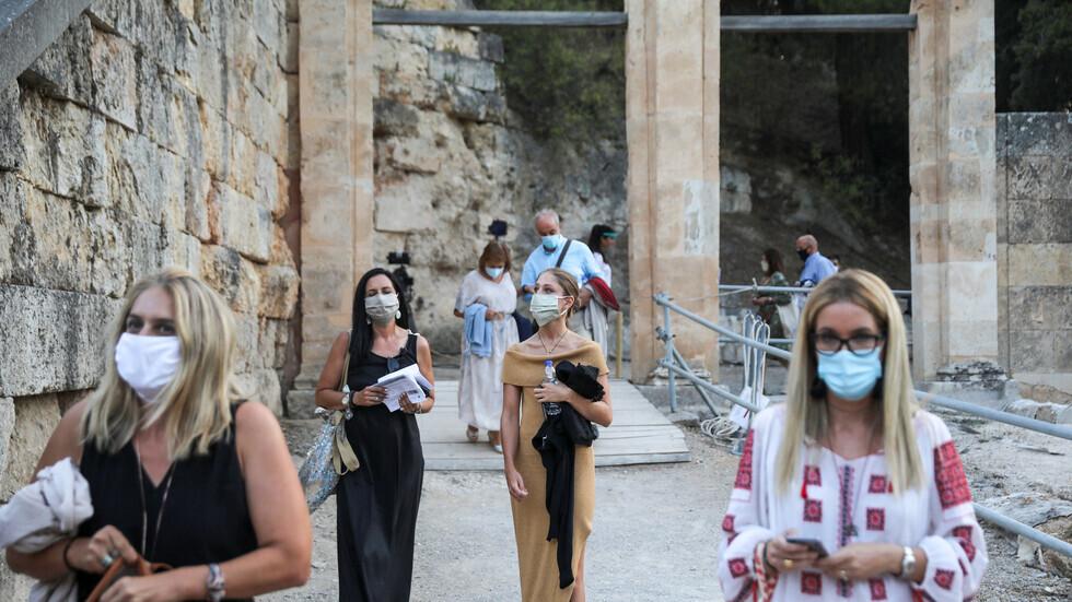وصول كورونا المتحور إلى اليونان
