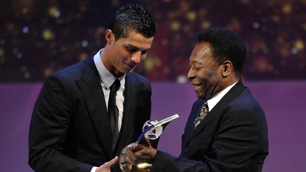 Watch .. Ronaldo surpasses Pele's legend