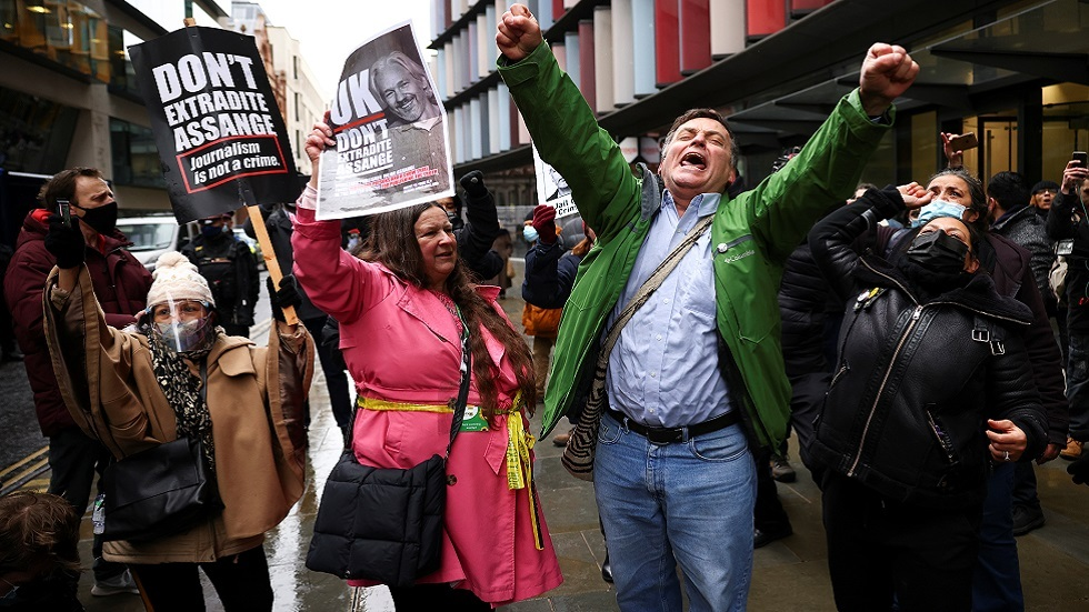 محكمة لندن ترفض طلبا أمريكيا بتسليم أسانج