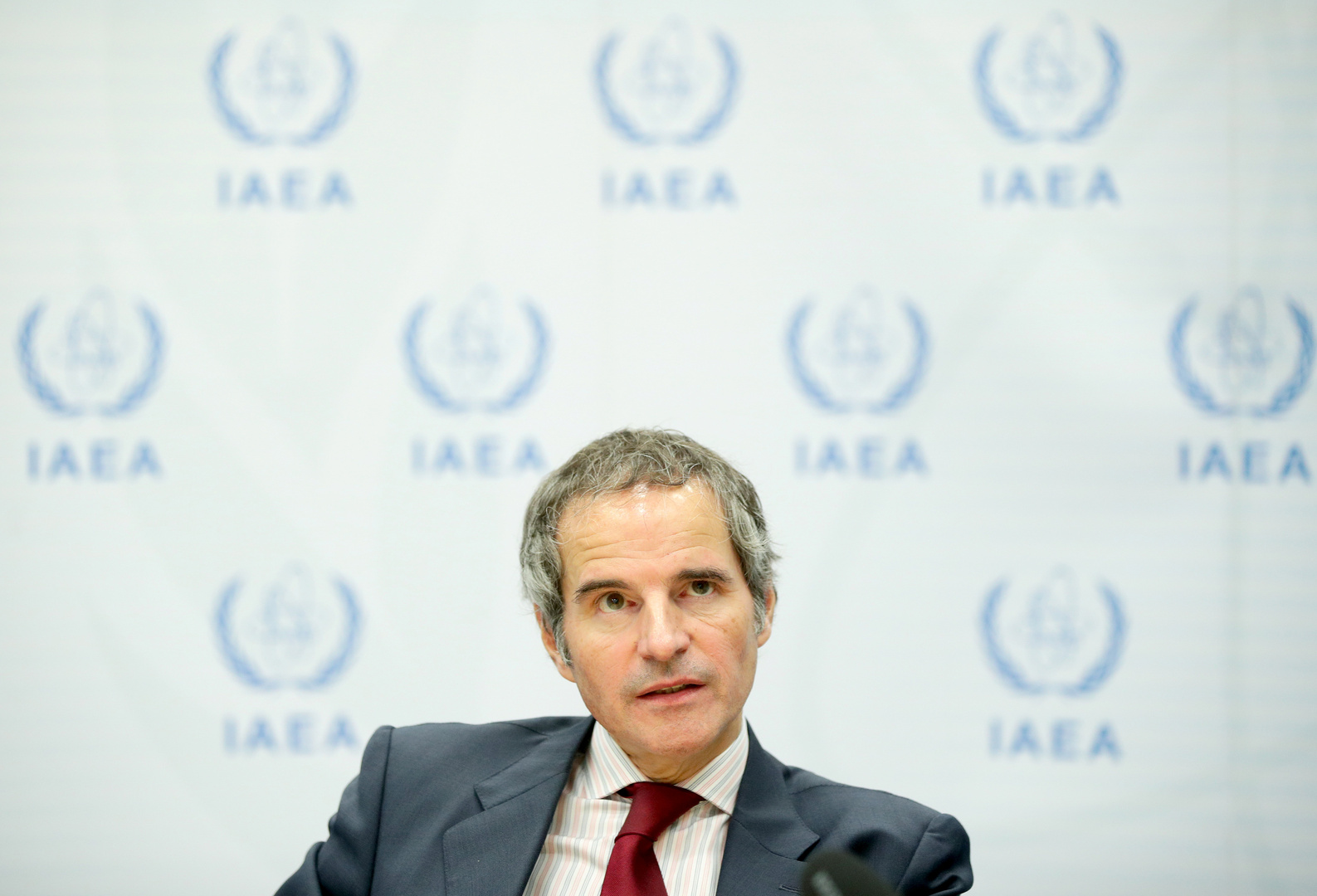 المدير العام لوكالة الطاقة الذرية رافائيل ماريانو غروسي
