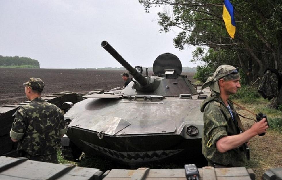 إصابة عسكريين أوكرانيين بانفجار جنوب شرقي البلاد