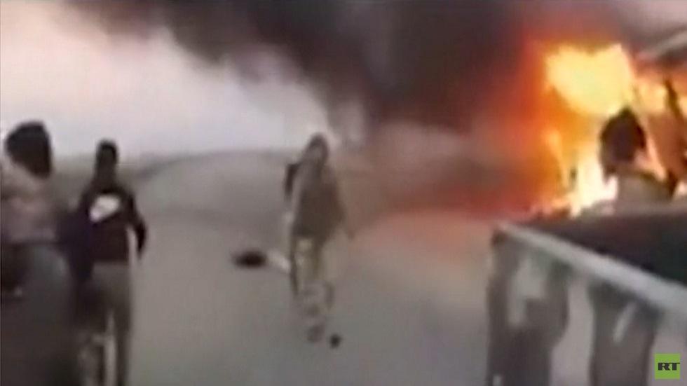 هجمات ضد حافلات مدنية وعسكرية بسوريا