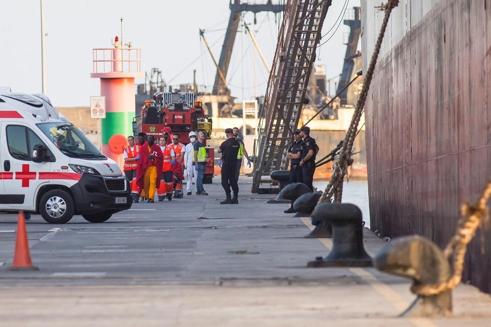جزر الكناري تشهد زيادة في عدد المهاجرين إلى أكثر من ثمانية أمثاله خلال 2020