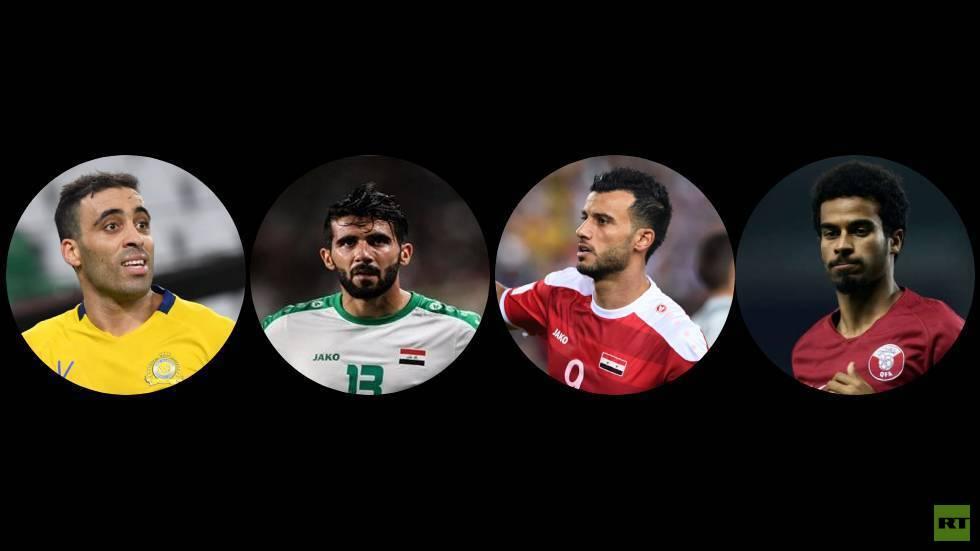 ترتيب اللاعبين العرب في استفتاء