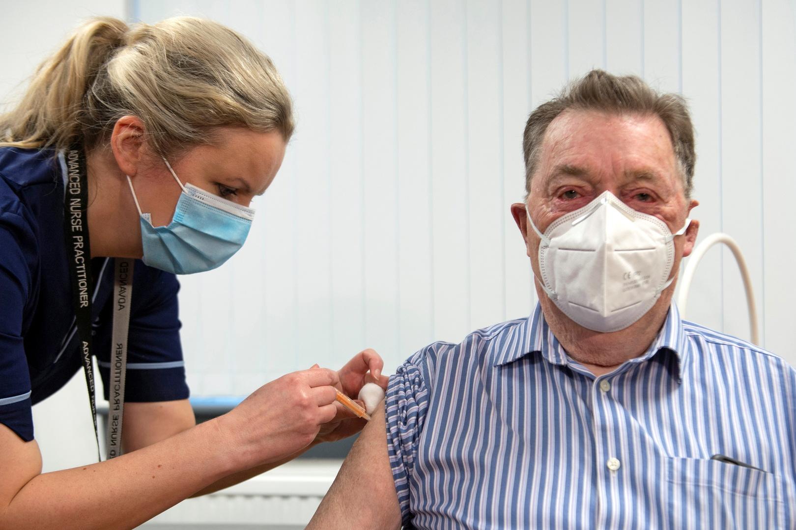 بريطانيا تبدأ التطعيم بلقاح