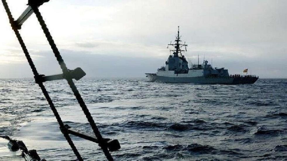 دخول سفينة استطلاع بريطانية مياه البلطيق