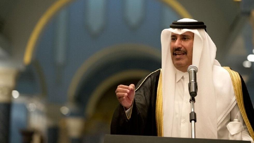 رئيس مجلس الوزراء وزير الخارجية القطري السابق  الشيخ حمد بن جاسم آل ثاني