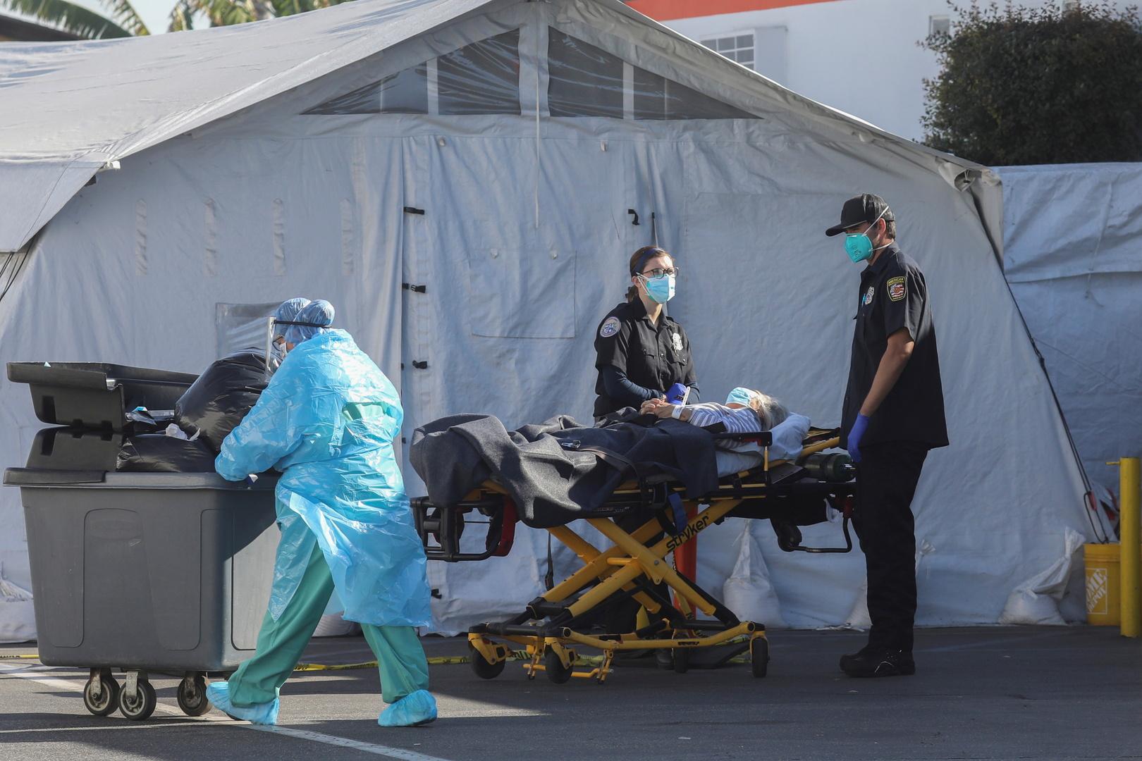 سلطات لوس أنجلوس تتحرك للحفاظ على احتياطي الأكسجين بمستشفياتها