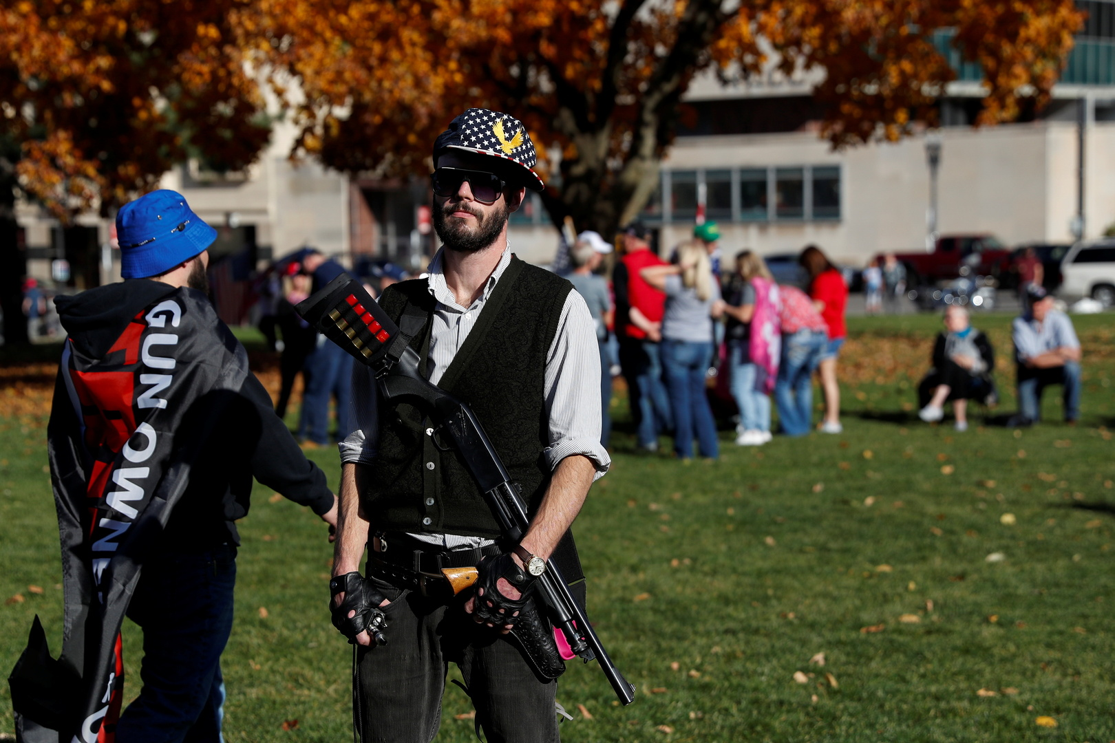 شرطة واشنطن تتأهب لمواجهة مناصري ترامب: السلاح ممنوع!